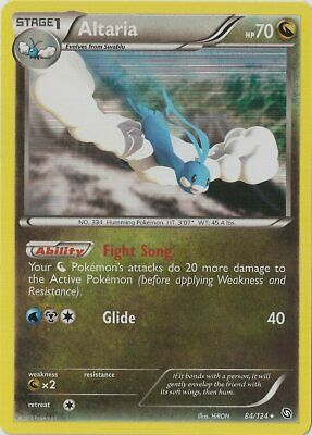 1x - Altaria - 84/124 - Holo Rare NM Pokemon Dragons Exalted
