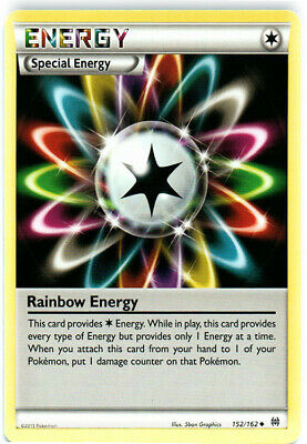 1x - Rainbow Energy - 152/162 - Uncommon NM, English Pokemon BREAKThrough