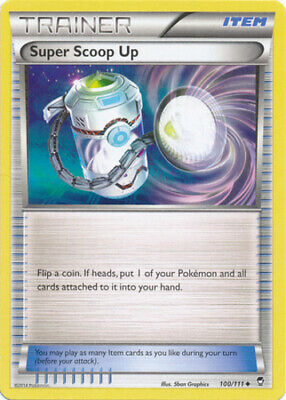 1x - Super Scoop Up - 100/111 - Uncommon - Reverse Holo NM Pokemon Furious Fists