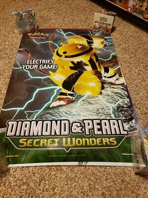 Electivire - Diamond & Pearl Secret Wonders - Pokemon Prerelease Banner - 24