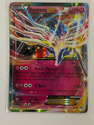 Pokemon Xerneas EX XY07 Holo Ultra Rare Black Star Promo TCG