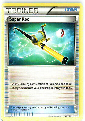 1x - Super Rod - 149/162 - Uncommon NM, English Pokemon BREAKThrough