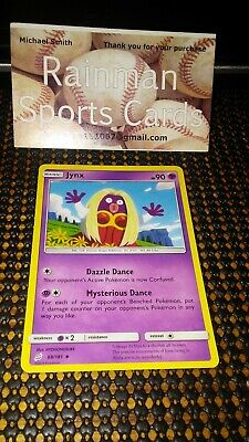 Pokemon Sun & Moon Team Up 68/181 Jynx Uncommon NM-MINT