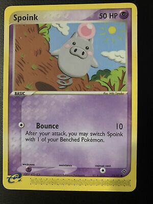 SPOINK - 73/97 - EX Dragon - Common - Pokemon Card