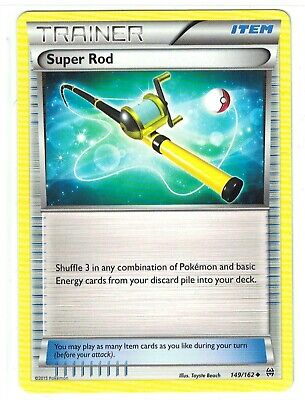 Pokemon XY Breakthrough, Super Rod 149/162 Uncommon NM