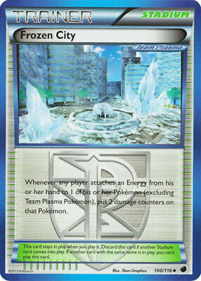 1x - Frozen City - 100/116 - Uncommon DMG, English Pokemon Plasma Freeze
