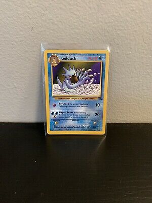GOLDUCK - Fossil Set - 35/62 - Uncommon - Pokemon Card - Unlimited Edition - NM