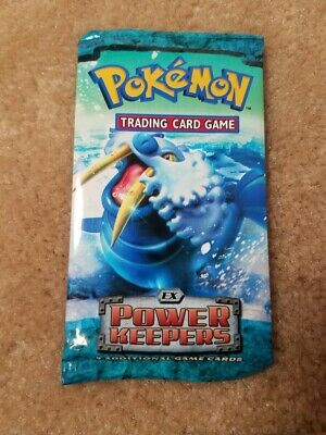 2007 Pokemon Ex Power Keepers Booster Pack, New / Sealed, Walrein Art