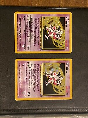Pokemon Mr. Mime Rare Holo 1999 Jungle Unlimited #6/64