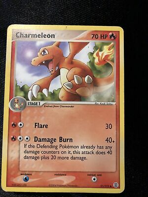 Charmeleon Holo Ex FireRed & LeafGreen 31/112 Great Condition Pokemon Card