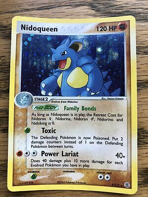 Nidoqueen 9/112 HOLO EX FireRed & LeafGreen Fire Red Pokemon Card