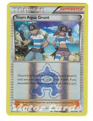 Pokemon Team Aqua Grunt - 26/64 - Reverse Holo - Double Crisis - LP
