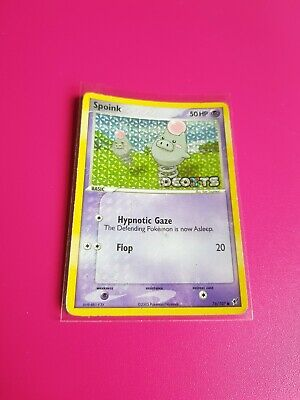 Pokemon Spoink Reverse Holo Ex Deoxys 76/107 Highly Played