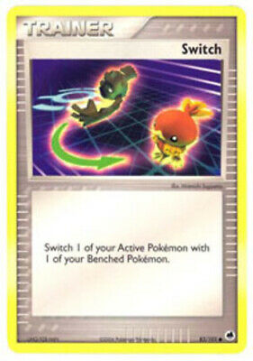 1x - Switch - 83/101 - Common PL/MP Pokemon EX Dragon Frontiers
