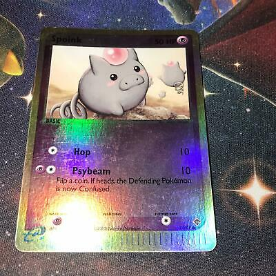 Spoink ~ 74/97 ~ Rev Holo PSA ? ~ EX DRAGON ~ LIGHT PLAY ~ Pokemon Card