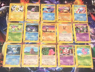 /147 AQUAPOLIS E-SERIES WOTC ~ NON-HOLOS ~ CHOOSE YOUR SINGLE CARDS ~ Pokemon