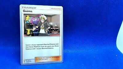 Pokemon Card - Guzma Trainer - 115/147 - Burning Shadows worlds 2018