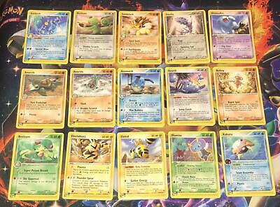 /100 EX SANDSTORM ~ E-SERIES NON HOLOS ~ CHOOSE YOUR SINGLE CARDS ~ Pokemon Card