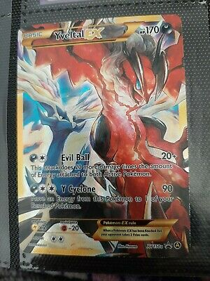 FULL ART Yveltal EX ULTRA RARE XY150a Alternate Xerneas Alt Art Pokemon - NM
