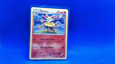 Pokemon Card - Braixen - XY161 - Promo - Holo nm