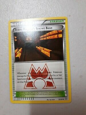 1x Team Magma's Secret Base 32/34 - Double Crisis - LP Pokemon Card