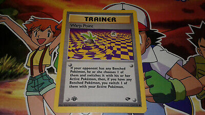 Pokemon 1st Edition Warp Point Gym Challenge 126/132 NM