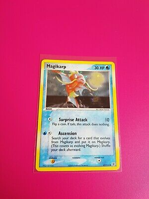 Pokemon Magikarp Reverse Holo Ex FireRed & LeafGreen 67/112 Near Mint - Mint