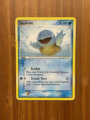 Non-holo Squirtle - 83/112 - EX Firered & Leafgreen - Pokemon - Mint - Common