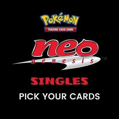 Pokemon - Neo Genesis Set - 2000 - Unlimited Single Cards (Pick Your Card) - NM