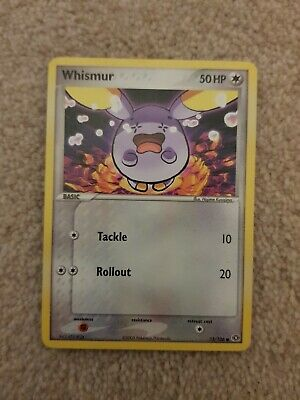 Pokemon Card TCG - EX Emerald Whismur 73/106 Common Very Good Condition