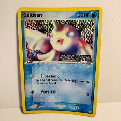 Goldeen 61/107 Reverse Holo Stamped EX Deoxys Pokemon Card