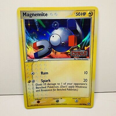Magnemite 54/108 Reverse Holo Stamped EX Power Keepers Pokemon Card