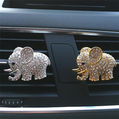 Air Fresheners Crystal Elephant Styling Car