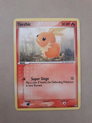Pokemon Torchic 67/108 Ex Power Keepers Inglese