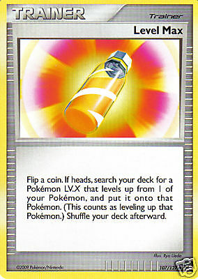 Pokemon Card from Platinum Set: LEVEL MAX 107/127 - Trainer - MINT / Near Mint