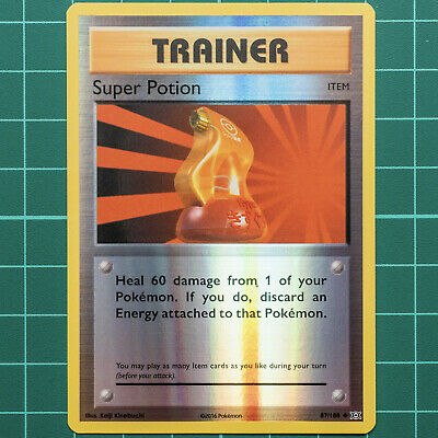 Pokemon Card - Super Potion - Reverse Trainer - XY Evolutions 87/108 * NM