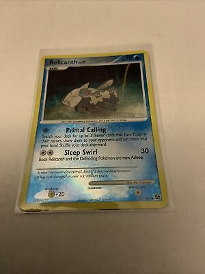 Relicanth 51/106 Reverse Holo Great Encounters Pokemon Card