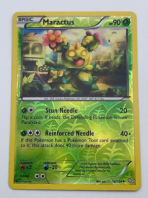 Pokemon💎Maractus Reverse Holo💎2012 - Dragons Exalted - #16/124🌟