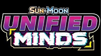 20% off 4 or more Pokemon Unified Minds Reverse Holo sun & moon