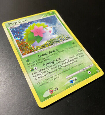 Shaymin - 14/127 - Holo Rare Platinum Pokemon LP See Detailed Pictures