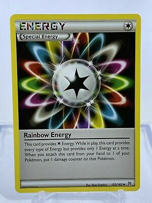 Pokemon Rainbow Energy 152/162 Breakthrough Uncommon *combined shipping*
