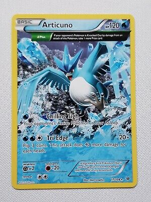 Articuno 17/108 Roaring Skies Rare Pokemon Card