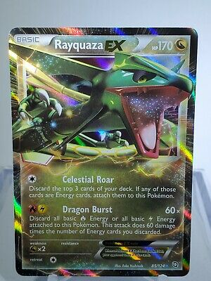 Pokemon - Rayquaza-EX - 85/124 - BW Dragons Exalted - Ultra Rare - VLP