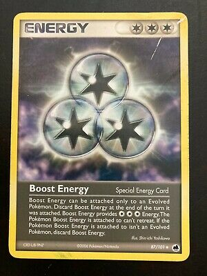 BOOST ENERGY - 87/101 - EX Dragon Frontiers - Pokemon - REVERSE HOLO Card