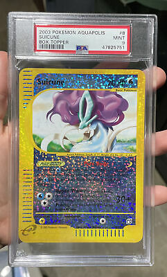 Suicune Box Topper Aquapolis 2003 Mint 9 PSA Pokemon #8 CF