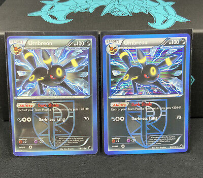 Umbreon - 64/116 - Holo Rare & non holo - Plasma Freeze Pokemon Card Mint
