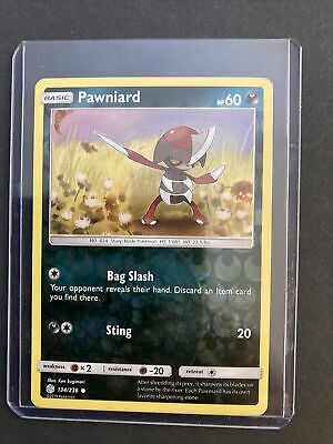 Pawniard 134/236 - Common Pokemon Card - SM: Cosmic Eclipse