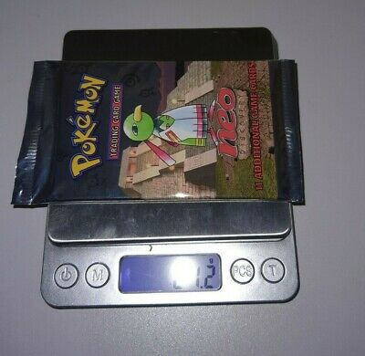 2001 Pokemon Neo Discovery Booster Pack Factory Sealed Xatu Art HEAVY? 21.2g