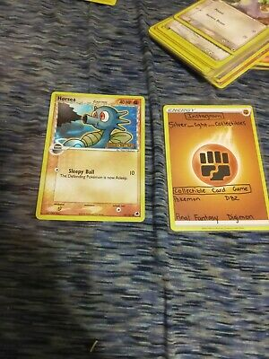 Horsea 50/101 EX Dragon Frontiers Stamped - Reverse Holo Pokemon Card NM/LP