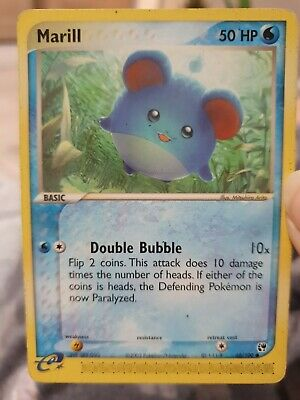 Marill - EX Sandstorm 68/100 Pokemon Card Near Mint Condition